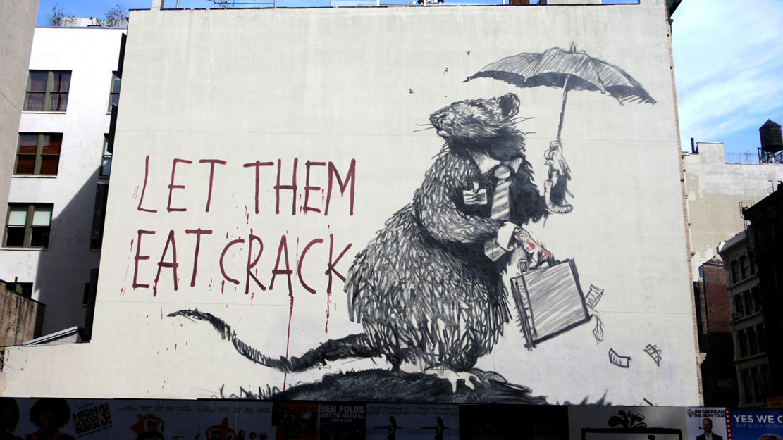 Street Art 101: Banksy