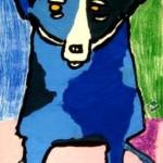Blue Dog - Beltina1 - Artsonia.com