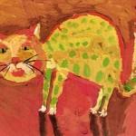 My Cat - Lena Meshcheryakova - age 7