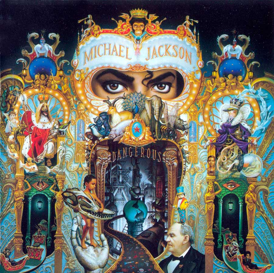 Dangerous - Michael Jackson - Cover by Mark Ryden