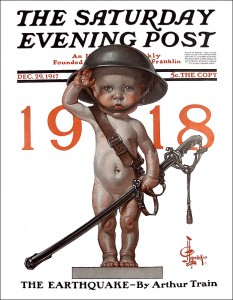 New Years's Baby - C Leyendecker
