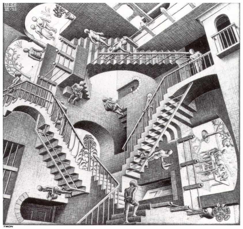 Relativity - M.C. Escher