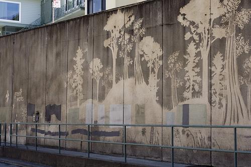 Paul Curtis: Reverse Graffiti