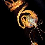 Gold Plated Bracelet - Alphonse Mucha