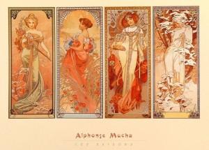 Alphonse Mucha: 1860-1939