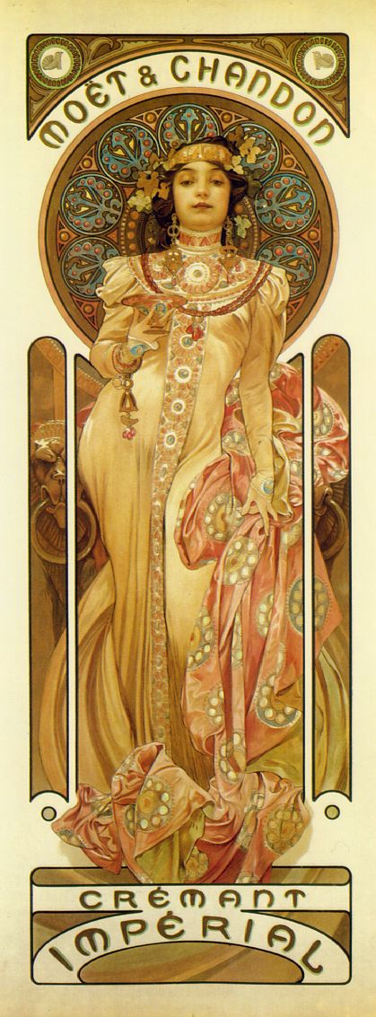 alphonse mucha daily art fixx a little art every day. Black Bedroom Furniture Sets. Home Design Ideas