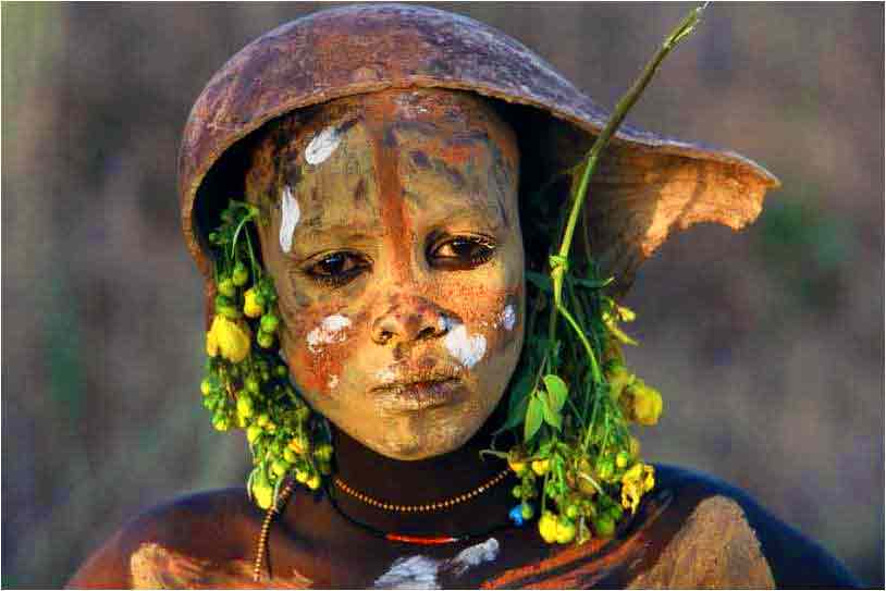 Stunning Ethiopian Omo Valley Tribes Natural Fashion photo 12