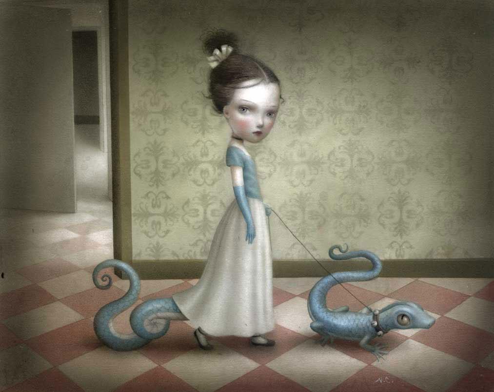 Nicoletta Ceccoli: Painting