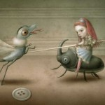 Fight © Nicoletta Ceccoli