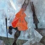 Mujeres Alcanzando La Luna-Rufino Tamayo-1946