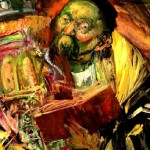 Rabbi with Torah - Hyman Bloom