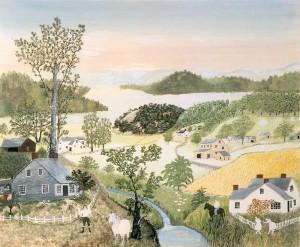 Grandma Moses – Anna Mary Robertson Moses: 1860-1961