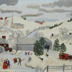We Love To Skate-Anna-Mary-Robertson (Grandma) Moses-1945