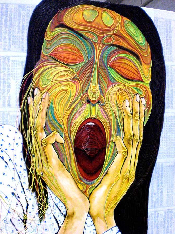 Kiei Takano: Wire Paintings