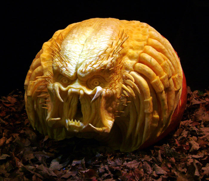 Ray Villafane Pumpkin Carving Daily Art Fixx