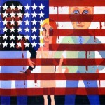 The Flag is Bleeding © Faith Ringgold -1967