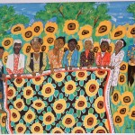 The Sunflower Quilting Bee at Arles -© Faith Ringgold-1996