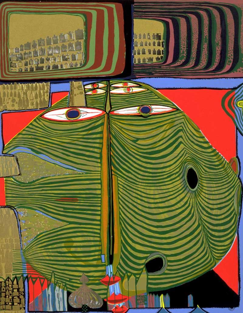 Friedensreich Hundertwasser: 1928-2000