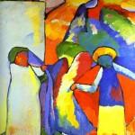 Improvisation 6 (African). 1909-kandinsky
