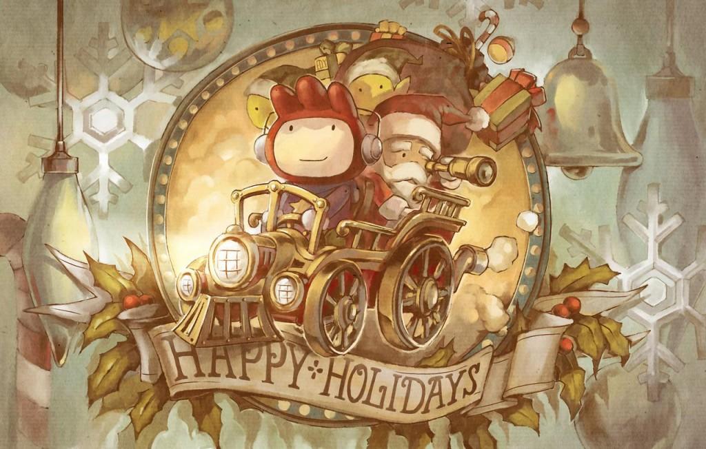 Scribblenauts_Holidays_by_Ushio18 - Deviant Art