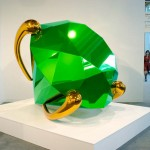 Jeff Koons - Green Diamond