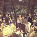Music in the Tuileries - Edouard_Manet 1862