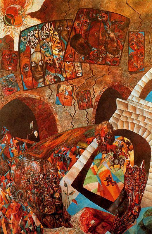 Untitled-pavel filonov 1927