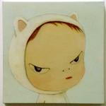 White Kitty - Yoshitomo Nara - 1998