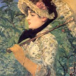 Spring-Edouard Manet - 1881