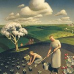 Spring_in_the_Country - Grant Wood - 1930