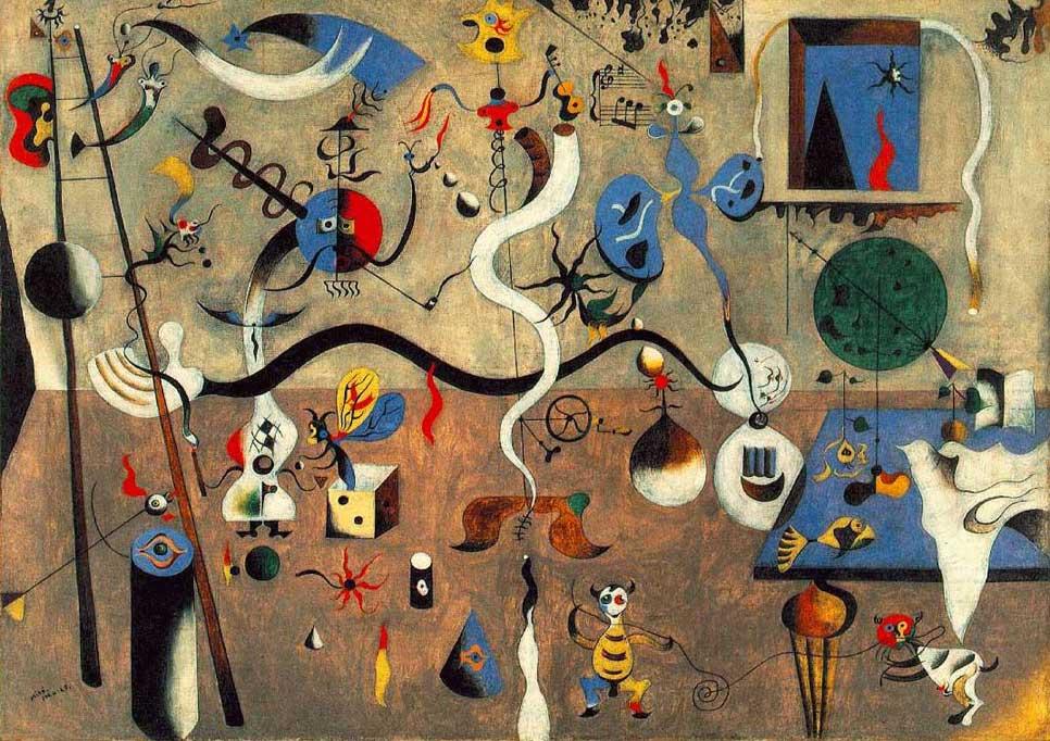 Born on April 20, 1893 in Barcelona, Joan Miró Ferra was a Spanish ...