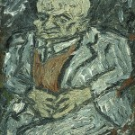 Portrait of Father-Leon Kossoff-1978