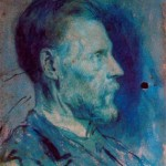Portrait of the Artists Father- Pablo Picasso-1896