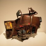 S, metal - Hirshhorn Museum and Sculpture Garden-John_Chamberlain-1959