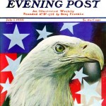 Saturday Evening Post -      Arthur H. Fisher Sam the American Eagle 1939
