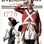 Saturday Evening Post - J.C. Leyendecker American Revolution 1923