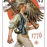 Saturday Evening Post - J.C. Leyendecker Minute Man 1929