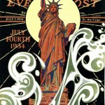Saturday Evening Post -      J.C. Leyendecker Statue of Liberty 1934
