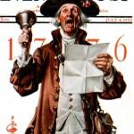 Saturday Evening Post - J.C. Leyendecker Town Crier 1925
