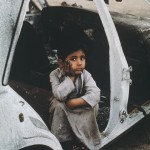 Shepherd Boy at Al Ahmadi-Kuwait-1991-Steve McCurry