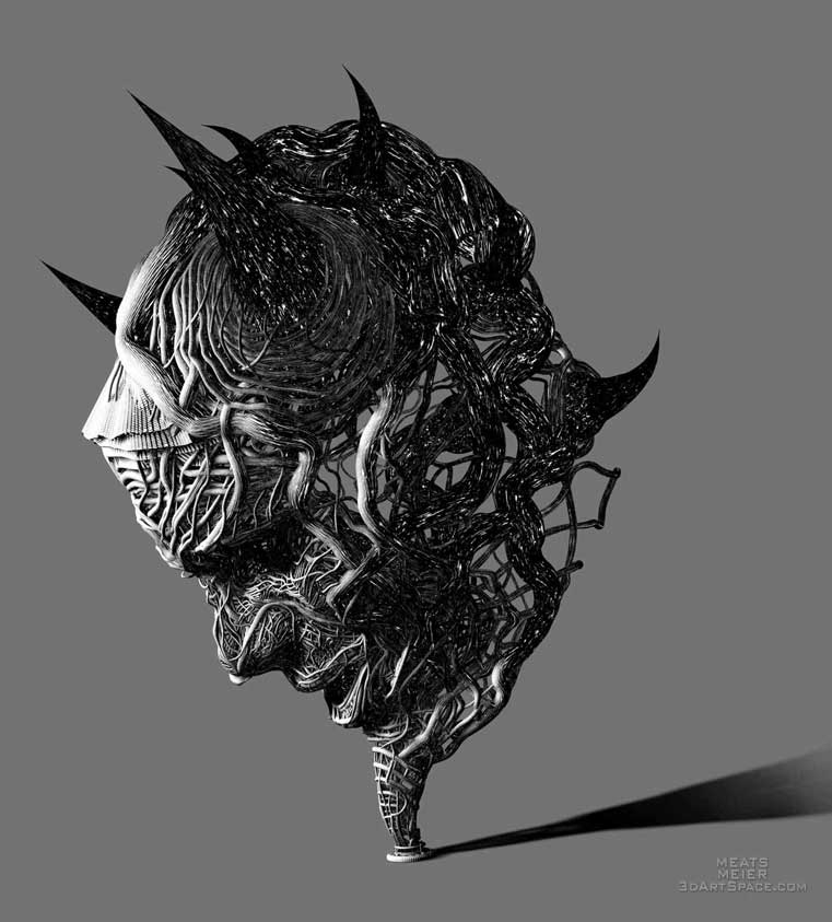 Meats Meier: 3D Art