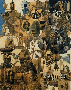 Cut with the Dada Kitchen Knife through the Last Weimar Beer-Belly Cultural Epoch in Germany-Hannah Hoch-1919