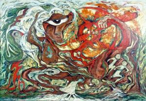 Daphne Odjig: Painting