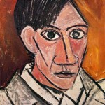 Self-Portrait-Pablo-Picasso-1907
