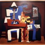 Three Musicians-Pablo-Picasso-1921