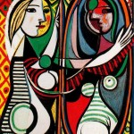 Young-Girl-in-Front-of-a-Mirror-Pablo-Picasso-1932