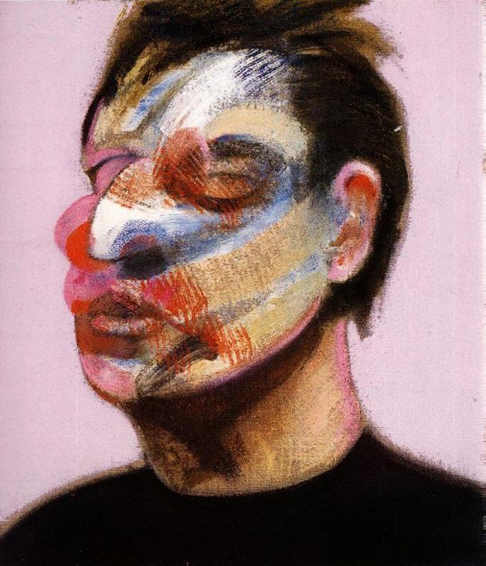 Francis Bacon (1909 - 1992) Self-portrait-right-panel-francis-bacon-1970