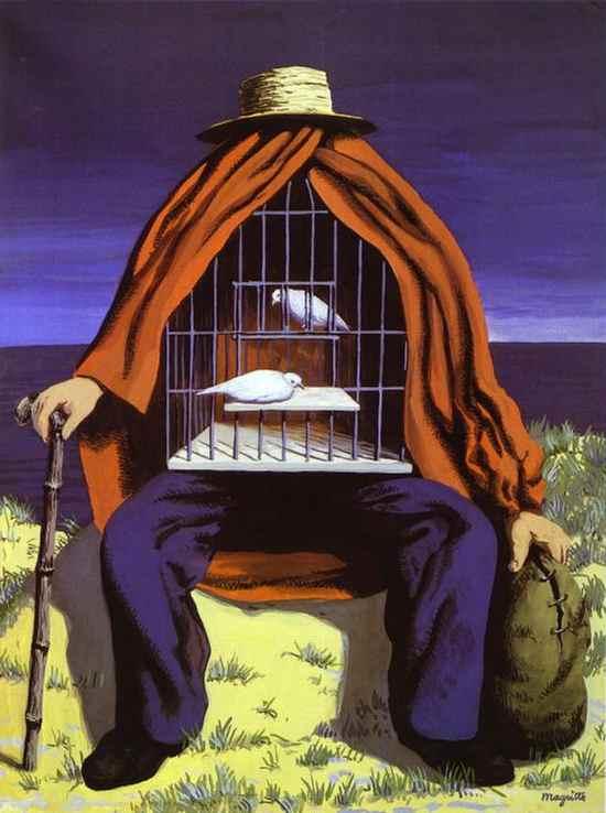Slike poznatih umjetnika koje su vama lijepe La-Th%C3%A9rapeute-Rene-Magritte-1941