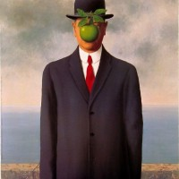 The Son of Man-Rene Magritte -1954