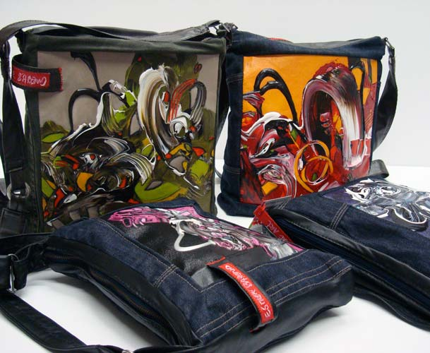 Esther Barend: Abstract and Portable Art